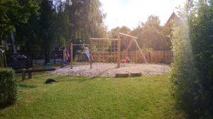 Einweihung Spielplatz